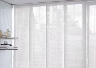 Panel Blinds Sheer White