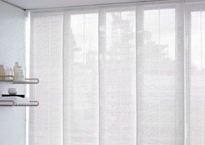 Panel Blinds Sheer White