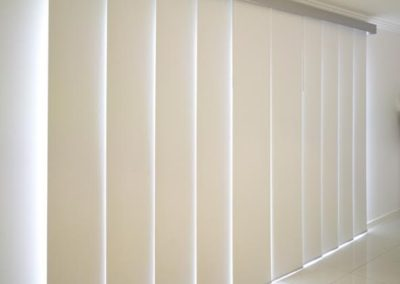 Panel Blinds White