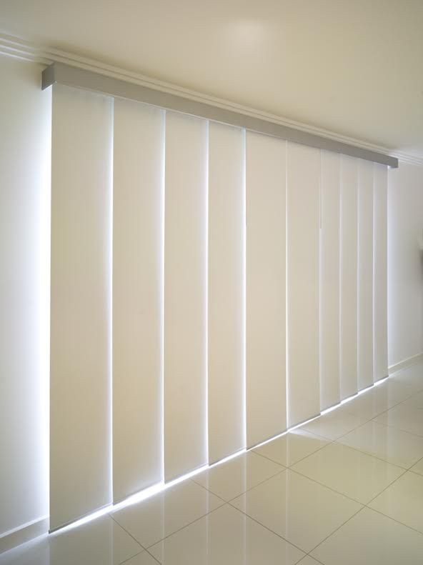 Panel Blinds White
