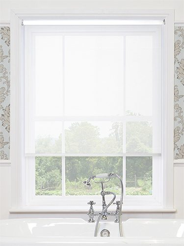 Roller Blind sheer white
