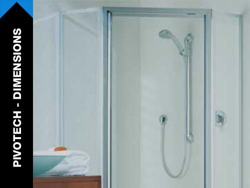 Dimensions Showerscreen