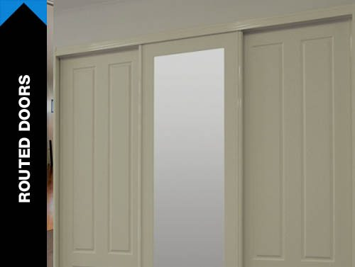 Routed Doors