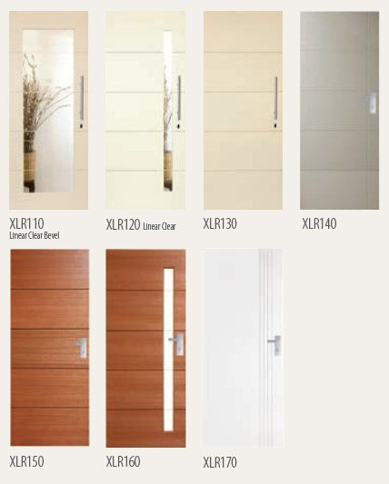 Different by design the Linear series has no equal for simplicity of style. Unique Linear glazing options compliment the door route and the theme can be ... & Entrance Doors Linear - Southside Security Doors pezcame.com