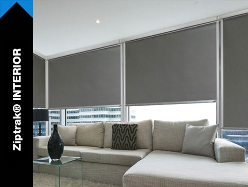 Ziptrak® INDOOR BLINDS